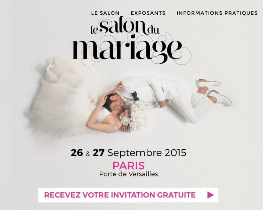 Salon du mariage porte de versailles les 26 et 27 for Salon 2015 porte de versailles